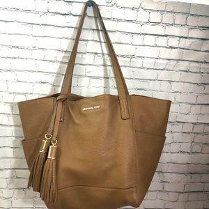 MK   Cognac Shoulder Bag